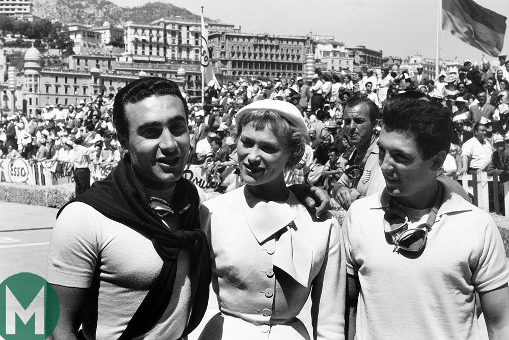 Eugenio Castellotti, 1955 Monaco Grand Prix