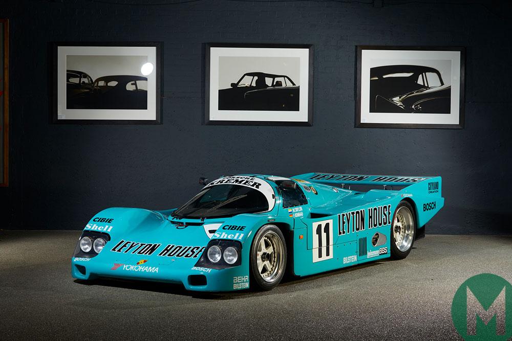 Leyton House-sponsored Kremer Racing Porsche 962 for sale at Amelia Island auction