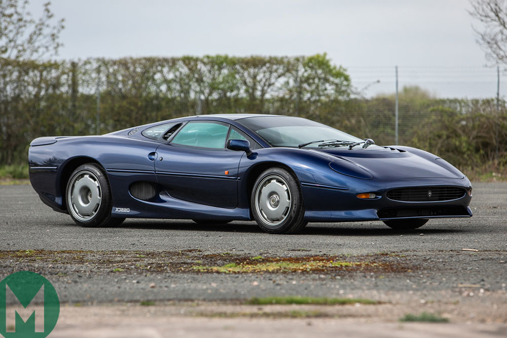 1995 Jaguar XJ220 for sale at the Heythrop Classic Car sale