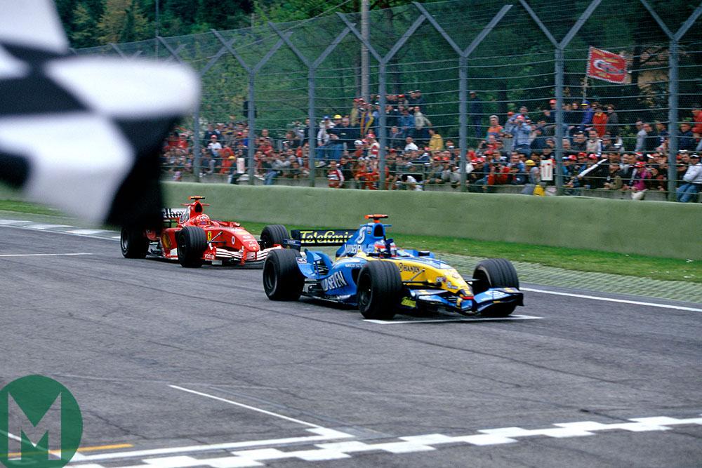 Alonso 2005 San Marino GP