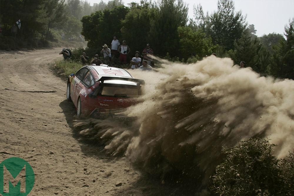 Sebastien Loeb Rally Acropolis 2005