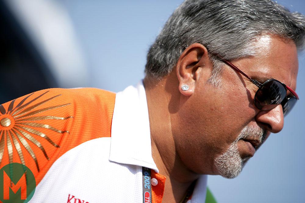 Vijay Mallya, Monza 2009