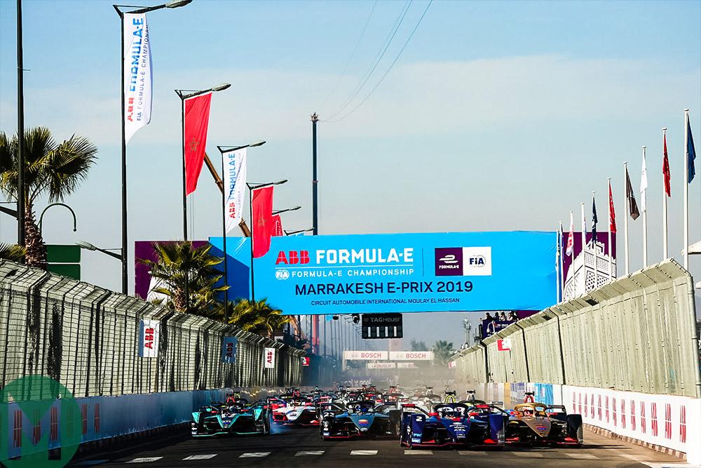 2019 Marrakesh ePrix start