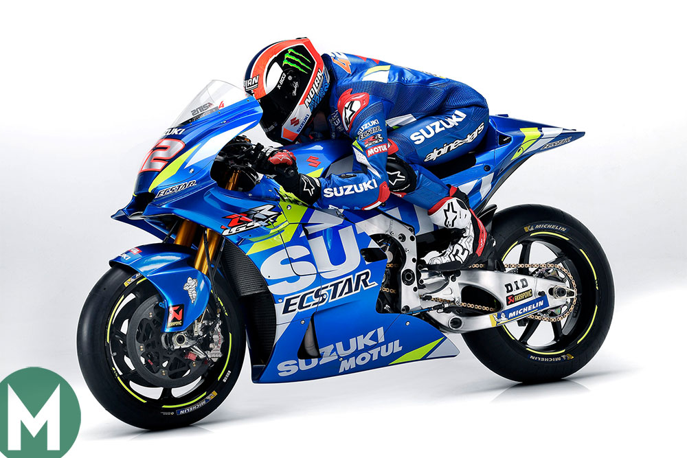 The new Suzuki livery for 2019