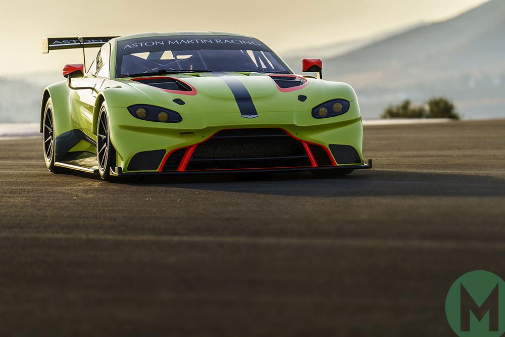 2018 Aston Martin Vantage Gte Revealed Motor Sport Magazine