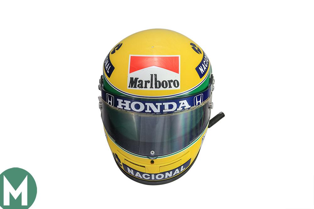 Ayrton Senna 1990 Rheos Helmet