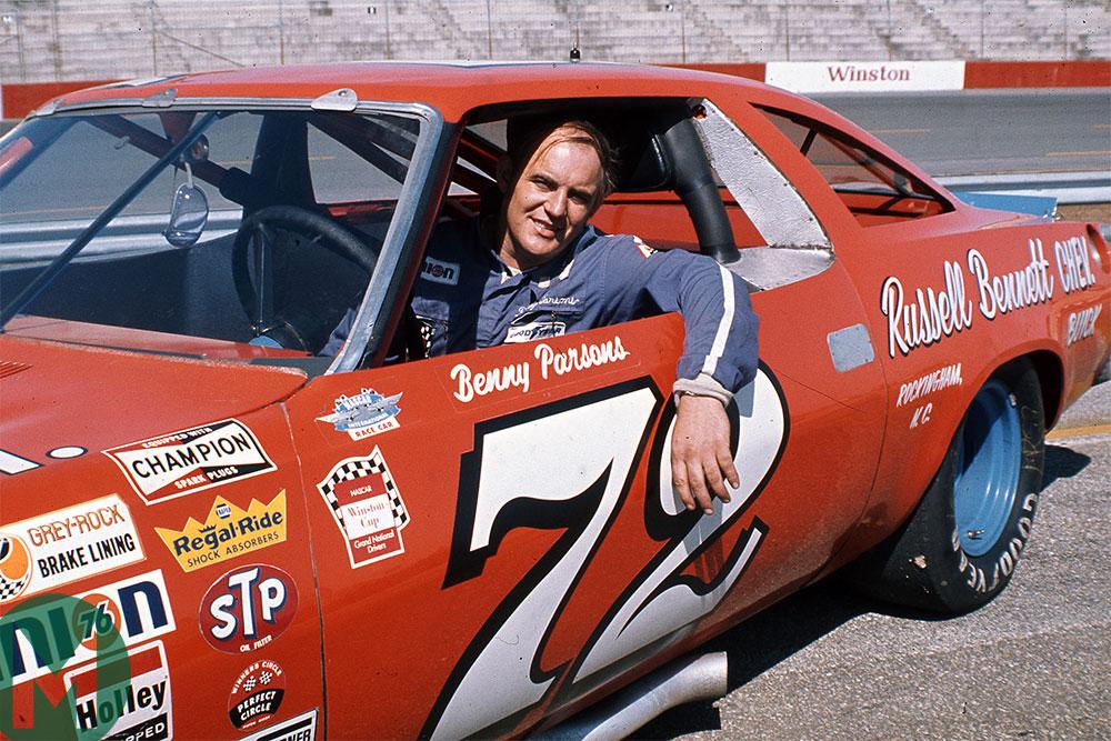 Benny Parsons 1972 NASCAR Cup season
