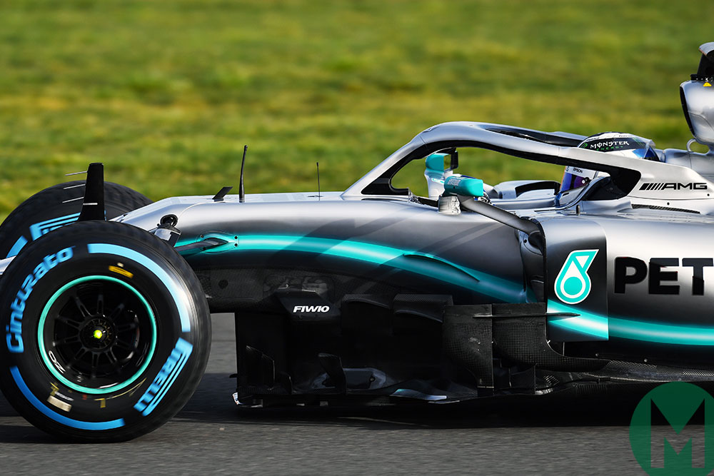Updated: Mercedes unveils 2019 W10 F1 car | Motor Sport ...