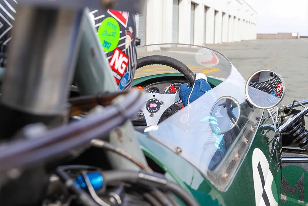 Brabham BT24 onboard view