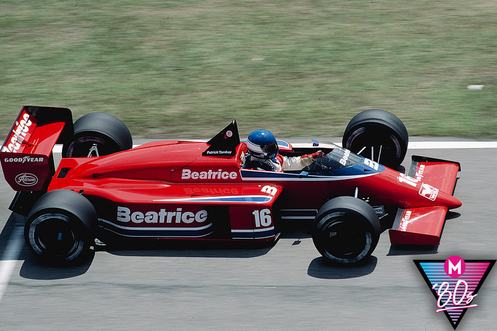 80s month: Driving the Beatrice-Lola THL1