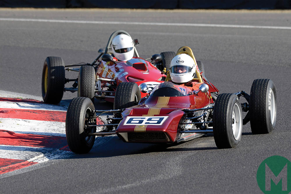 Dave Lowe FF1600 racer