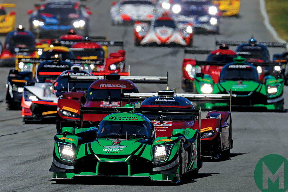 IMSA LMP2 rules have resulted in full grids