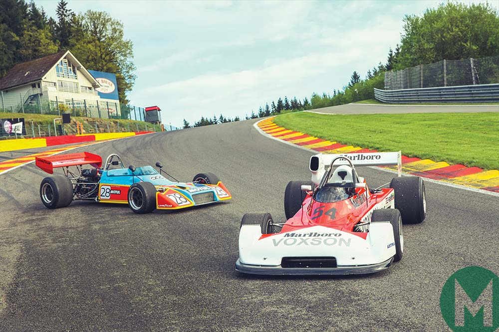 Historic Formula 2 cars