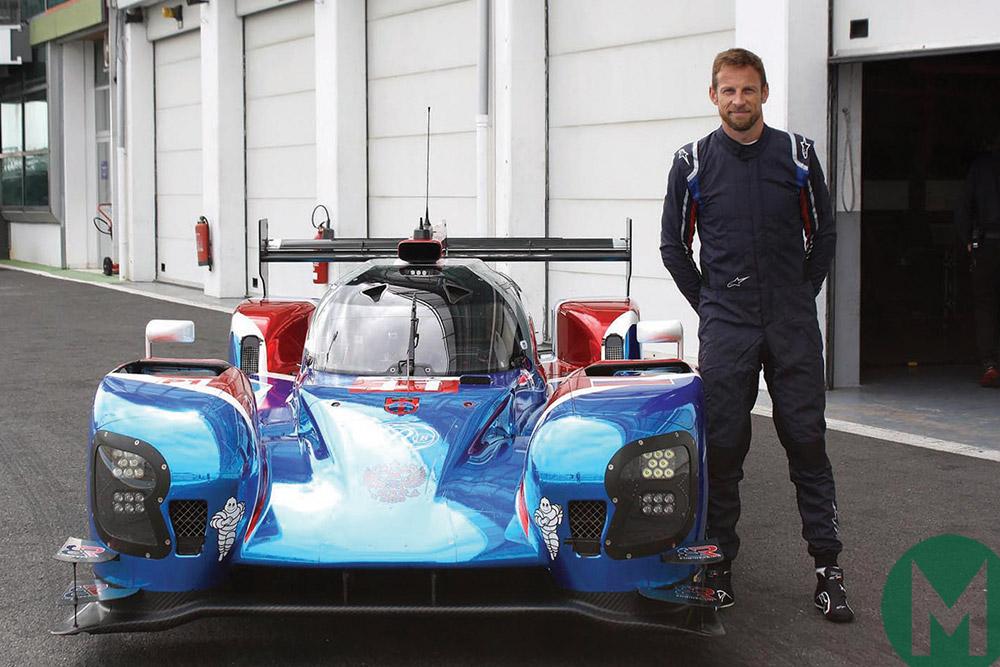 Jenson Button 2018 Le Mans