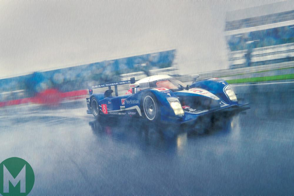 Peugeot 908 HDi rain