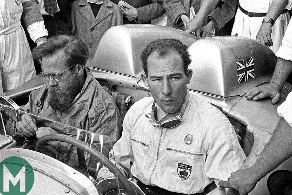 Stirling Moss 1955 Mille Miglia