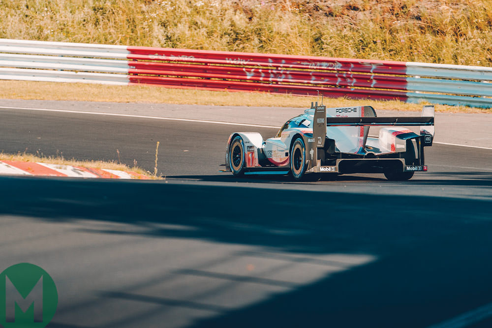 Porsche sets Nurburgring record with 919 Evo
