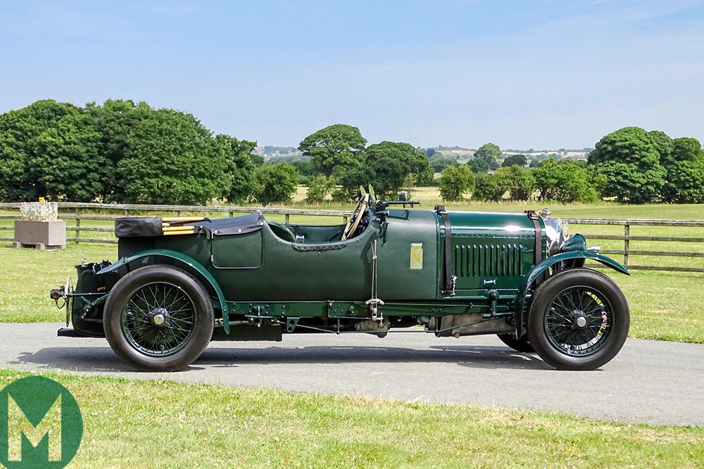 Woolf Barnato's Bentley, which is headed to auction