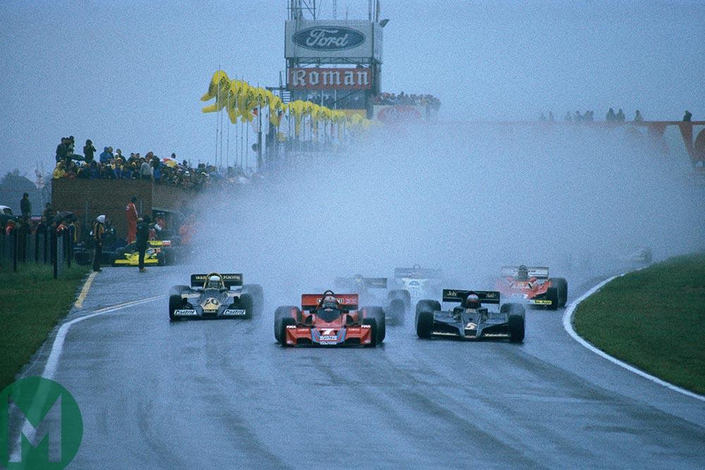 1977 Belgian Grand Prix start
