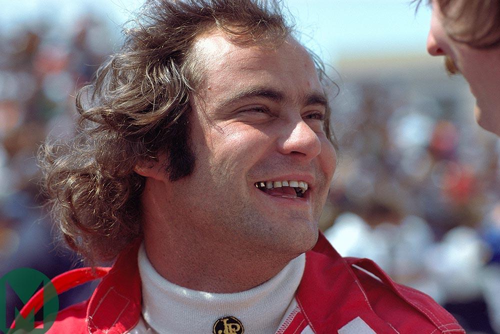 Gunnar Nilsson at the 1977 Monaco Grand Prix