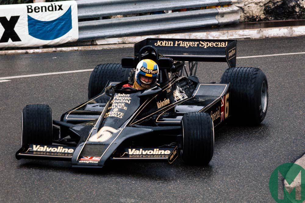 Gunnar Nilsson at Monaco in 1977