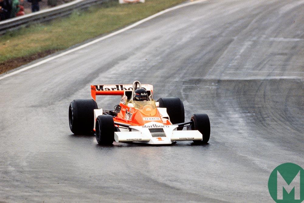 James Hunt 1977 Belgian Grand Prix