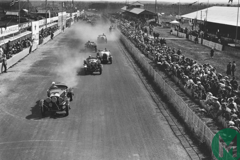 Start of the 1928 Le Mans 24 Hours race