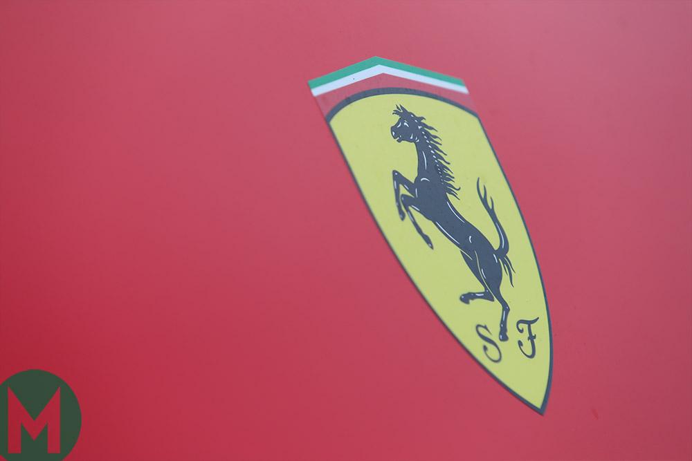 Ferrari F1 team logo
