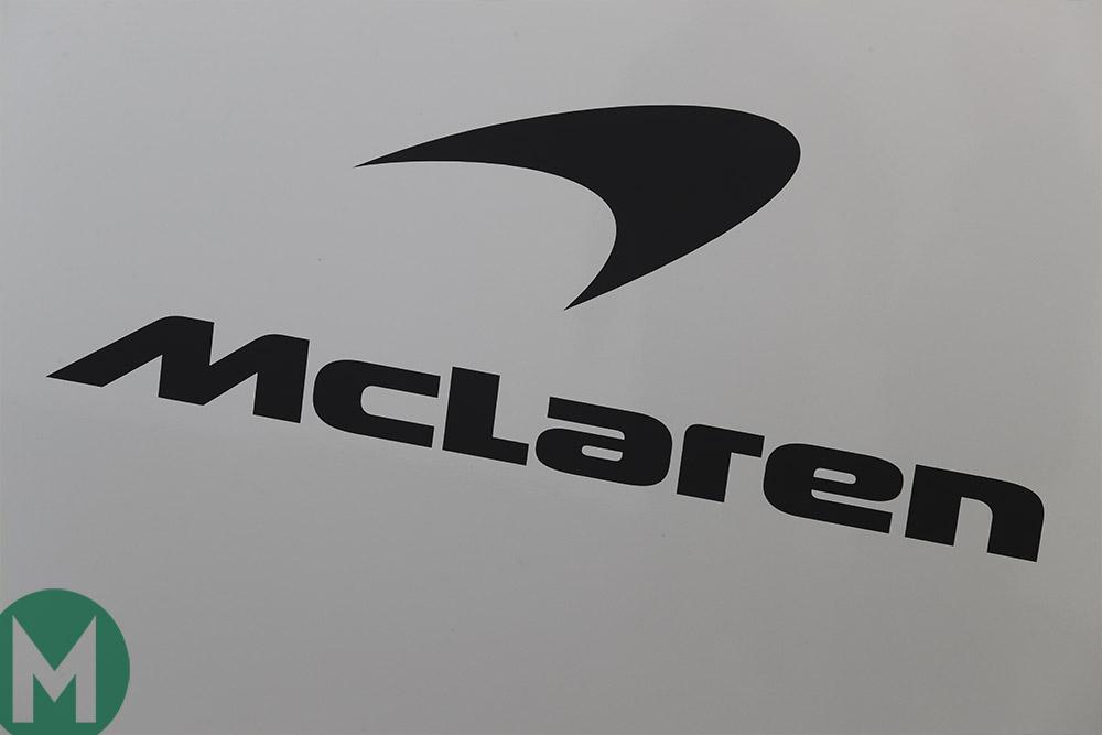 McLaren F1 team logo