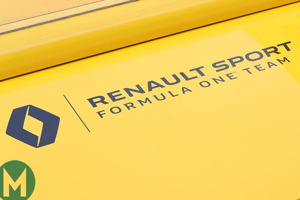 Renault F1 team logo 2018
