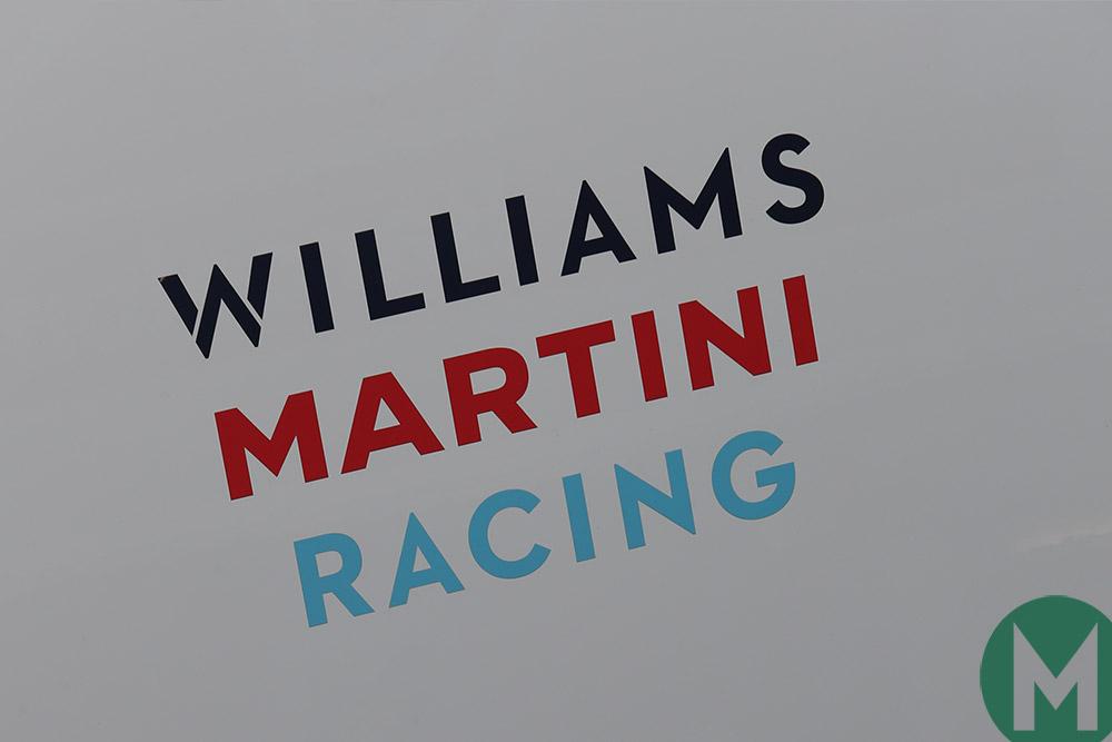 Williams F1 team logo 2018