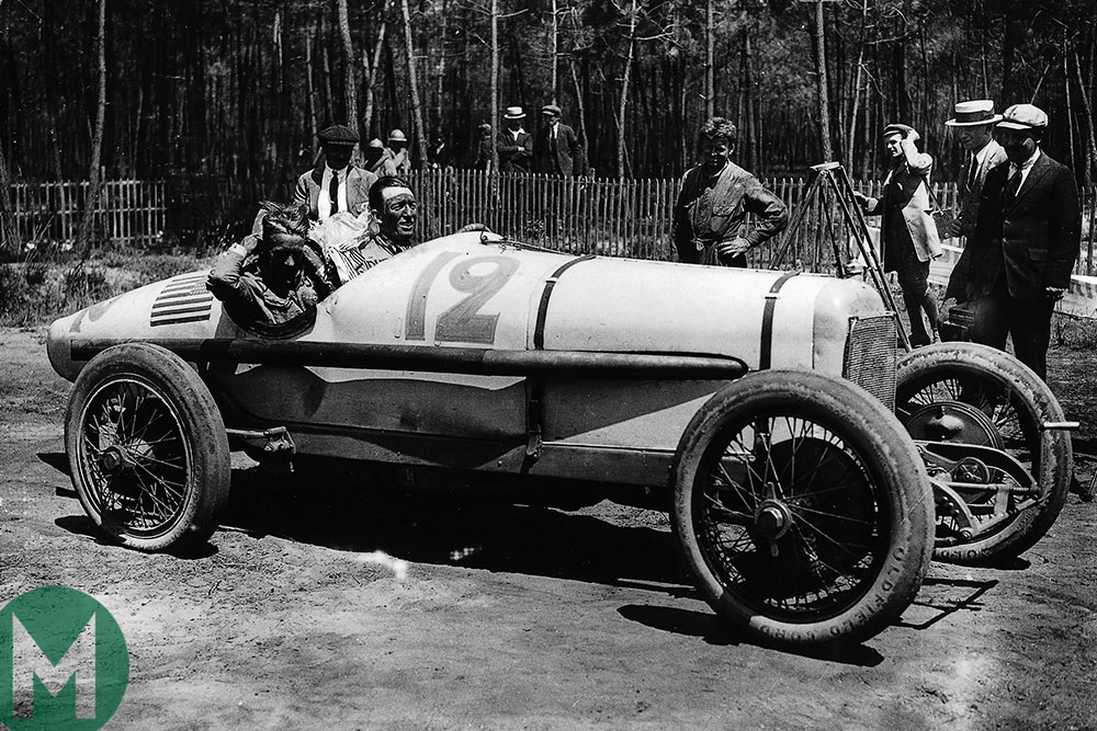 Jimmy Murphy 1921 French GP