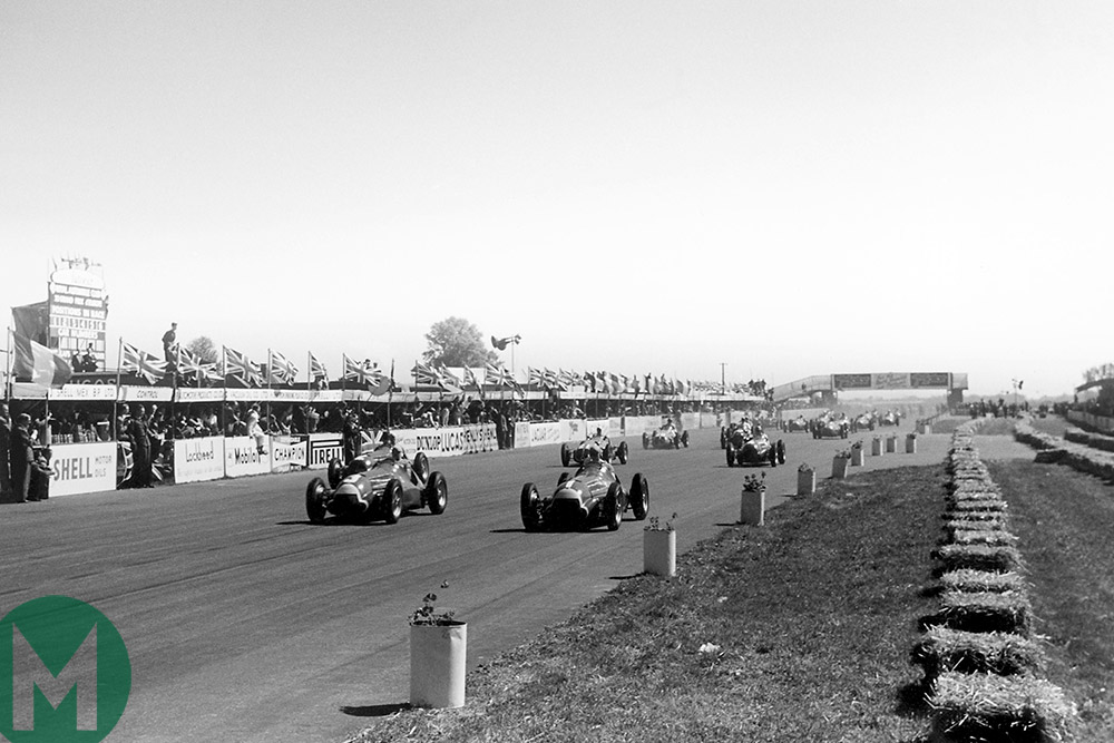 British Grand Prix 1950 start
