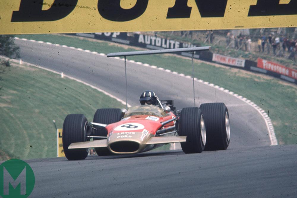 Graham Hill British GP 1968