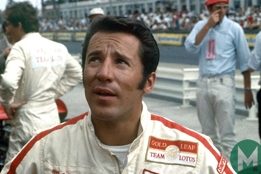 Mario Andretti at the 1969 German Grand Prix at the Nurburgring