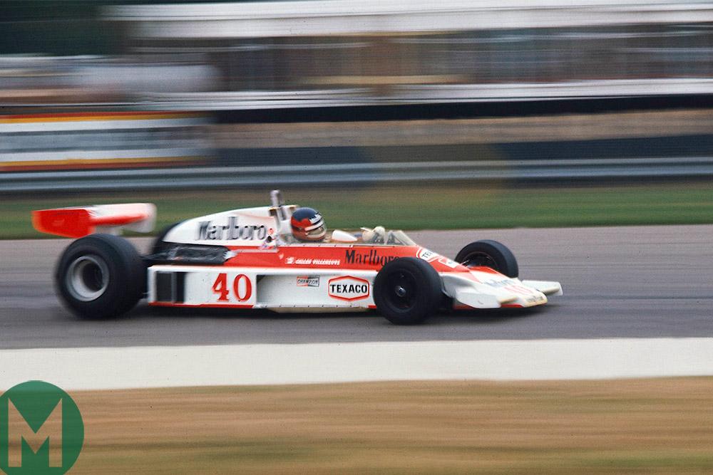 Gilles Villeneuve 1977 British Grand Prix