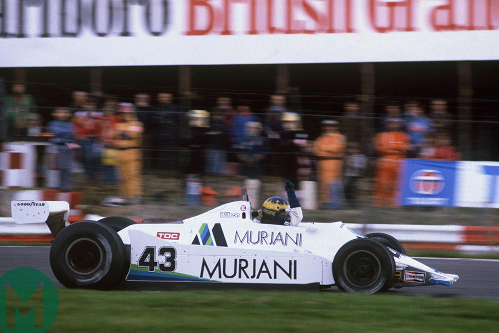 Desire Wilson 1980 British Grand Prix