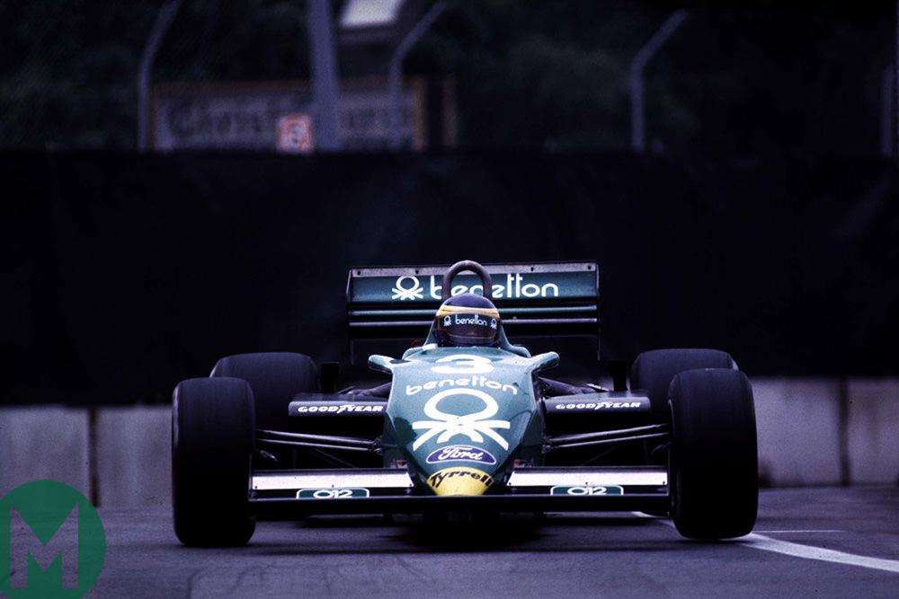 Alboreto Detroit 1983