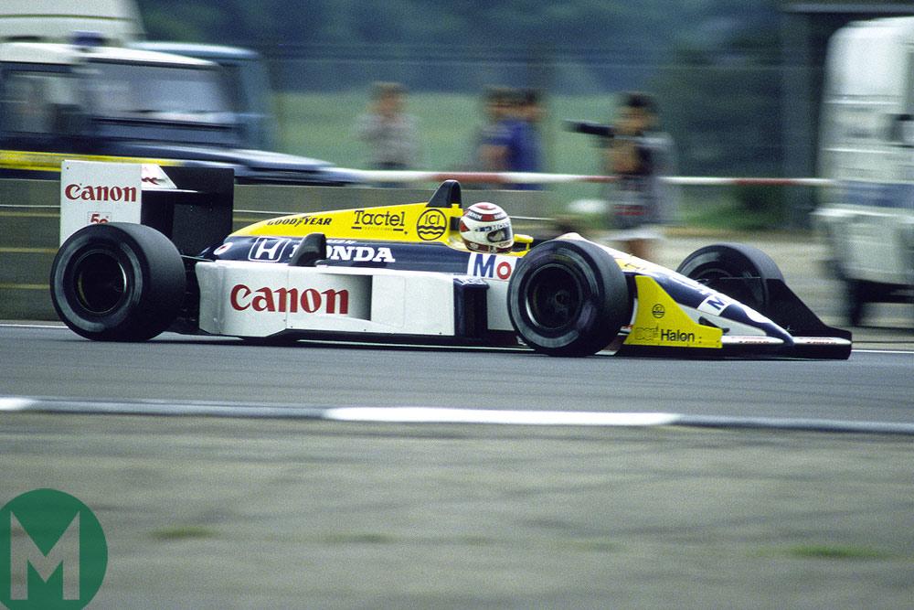 FW11 1986 Piquet