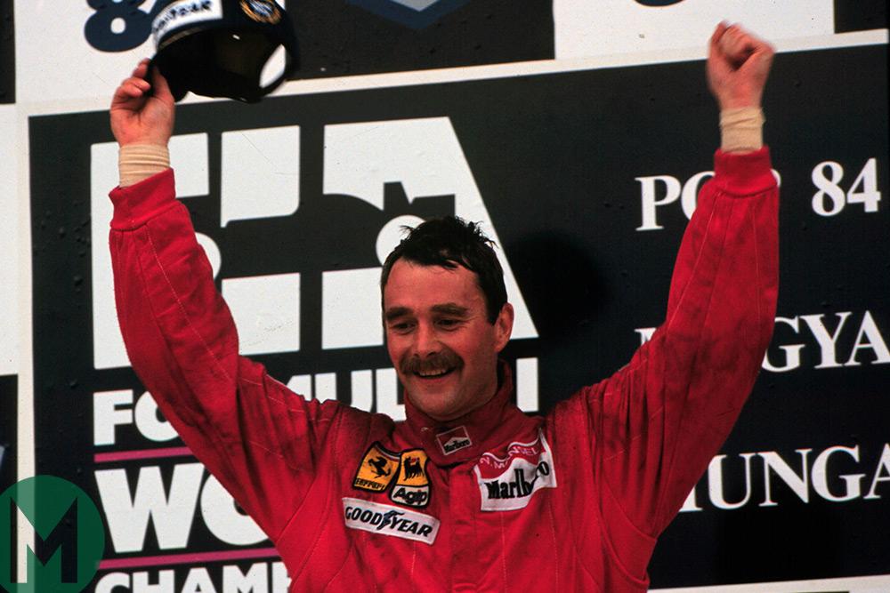 Mansell 1989 Hungary