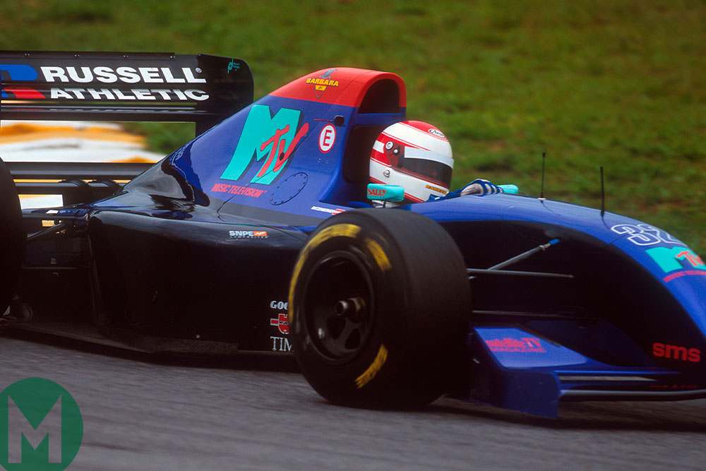 Ratzenberger 1994 Brazilian GP F1