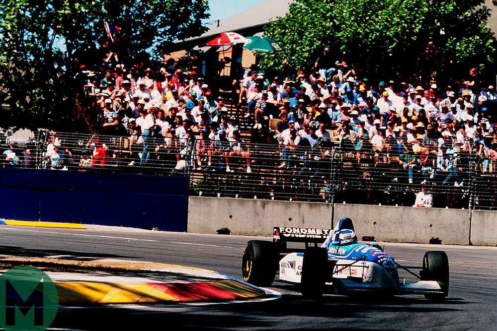 Mika Salo 1995 Australian GP
