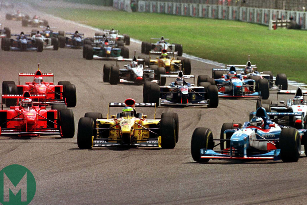 1997 German GP start
