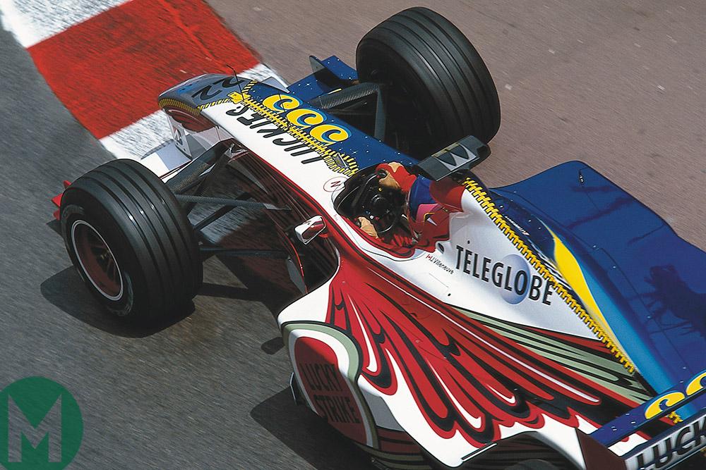 Villeneuve Monaco 1999 F1