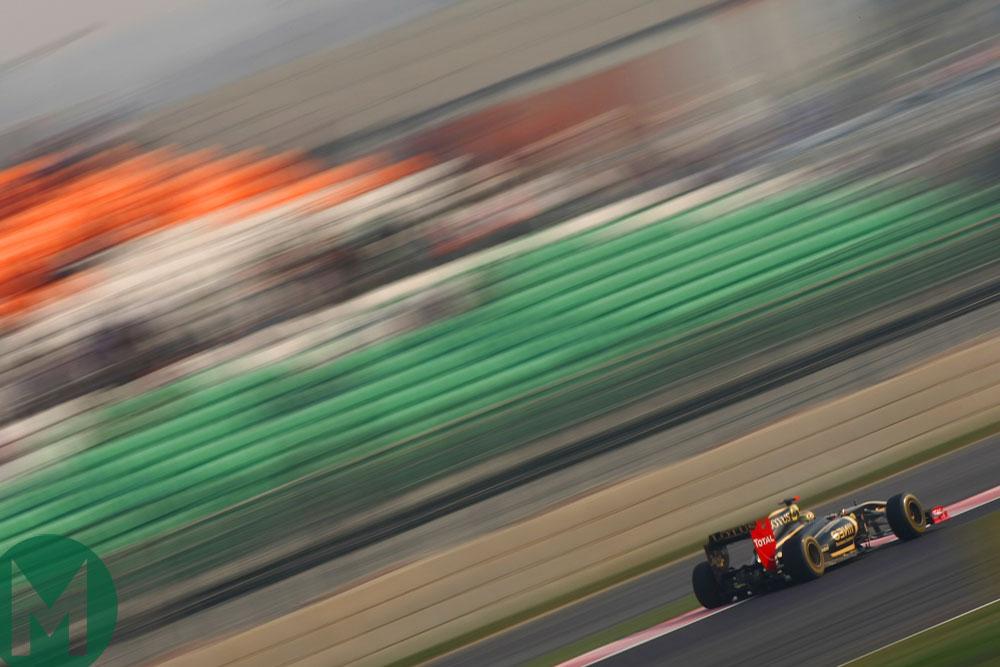 Indian Grand Prix Lotus F1