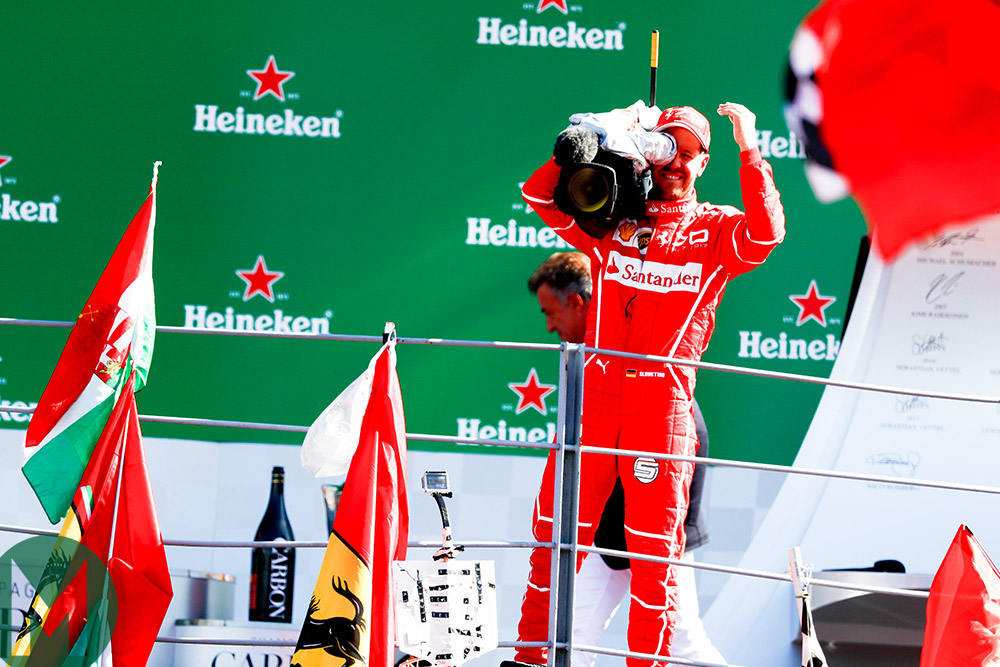 Monza 2017 GP Vettel camera