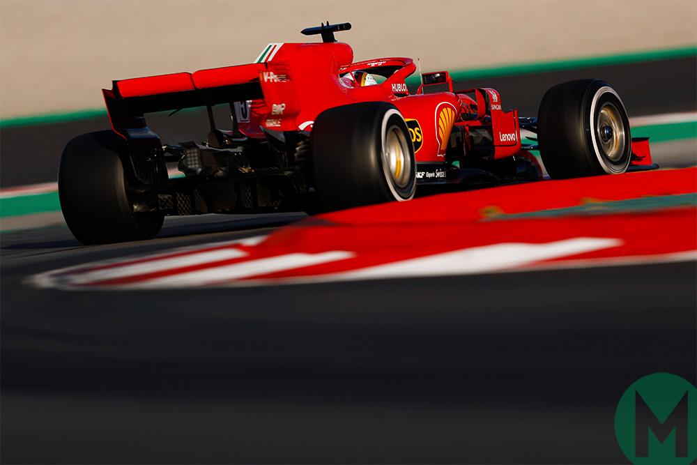 Ferrari 2018 F1 testing