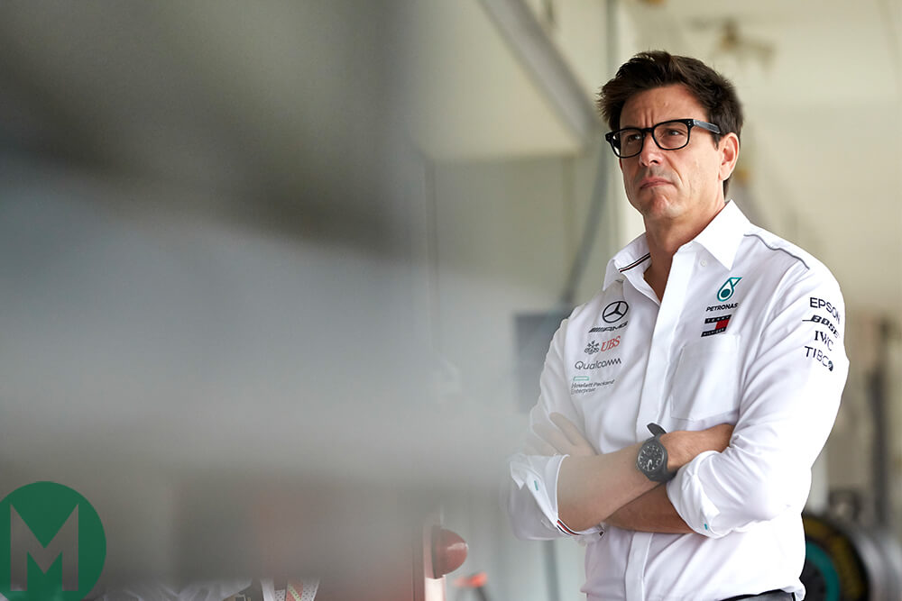 Toto Wolff 2018 Japanese Grand Prix