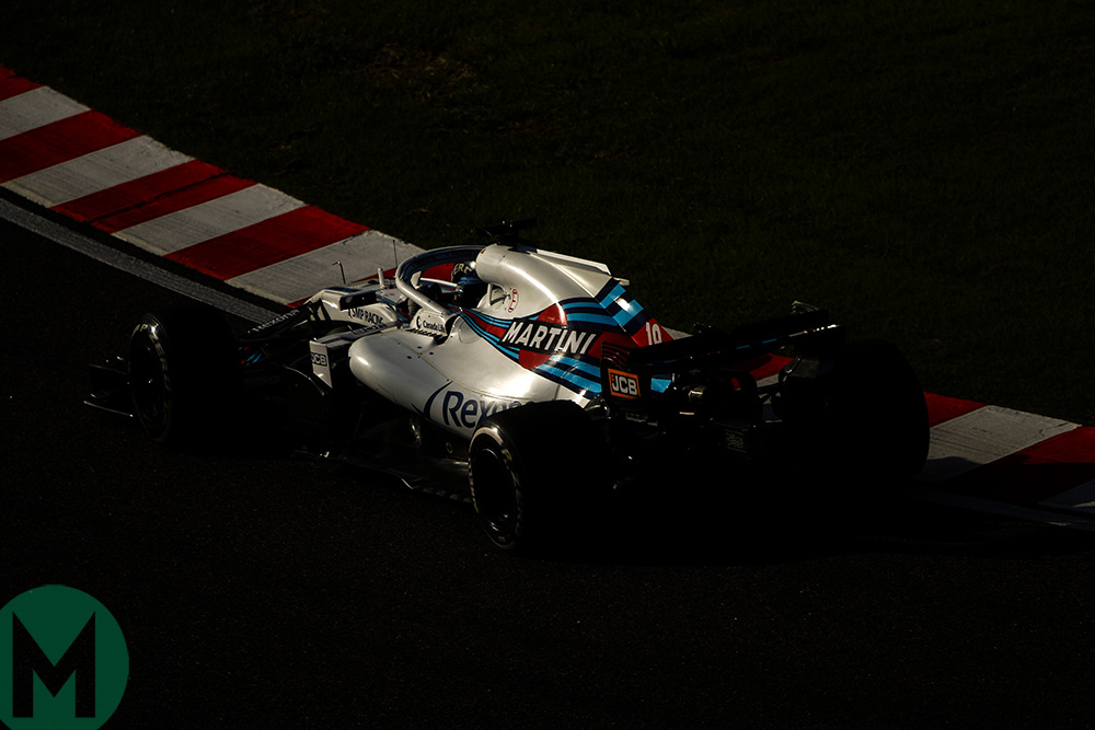 Williams F1 2018 Suzuka