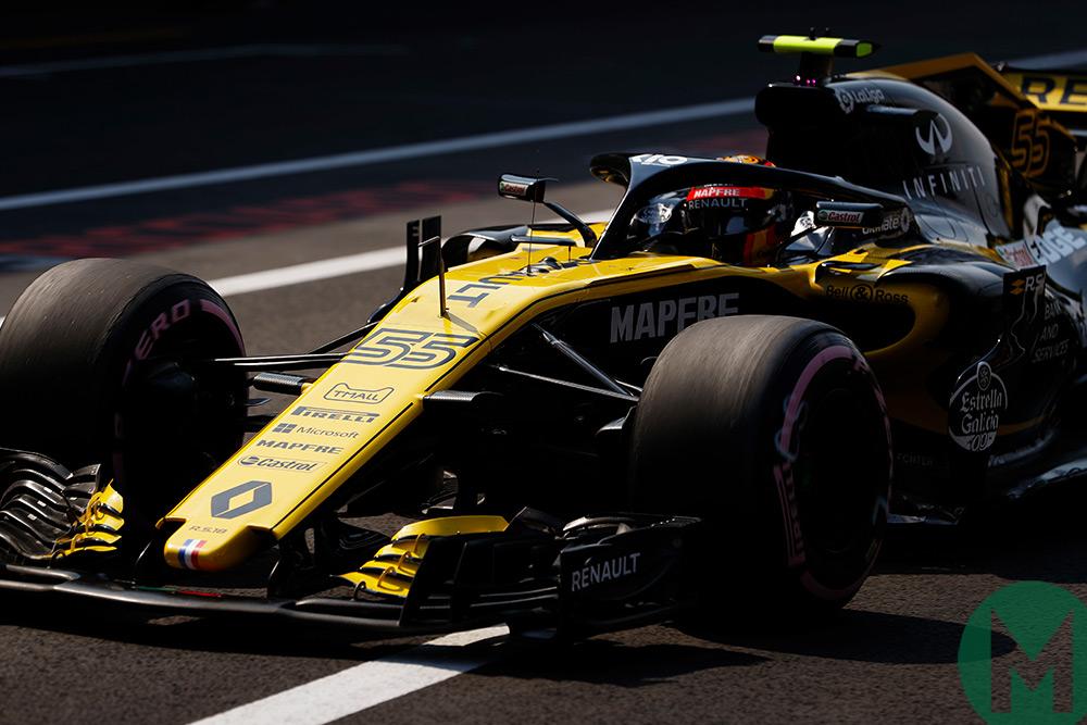2018 Mexican Grand Prix, Carlos Sainz Jr